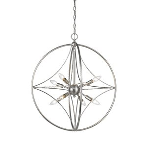Silvester 8-Light Globe Pendant