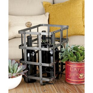 Charles 6 Bottle Tabletop Wine Bottle Rack