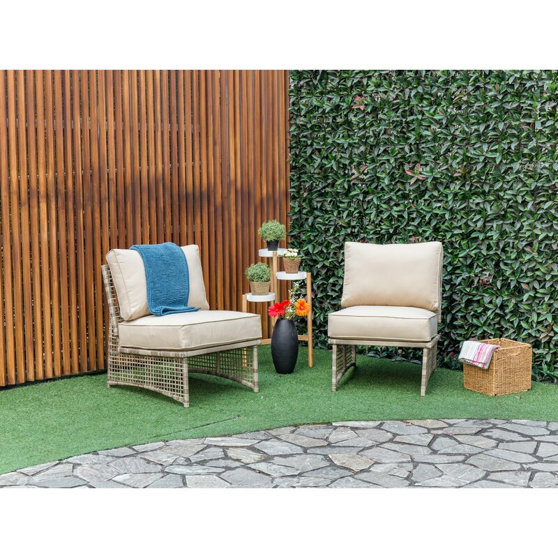 Kayleigh Outdoor Patio Chair With Cushions