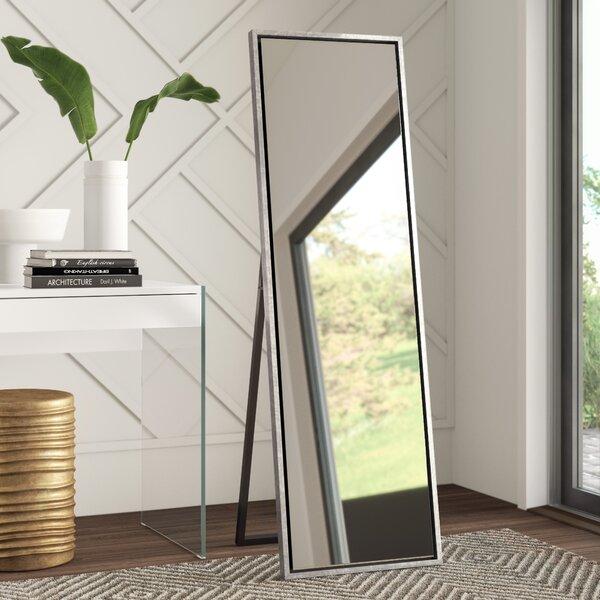 Wooden Mirror Stand Designs : Wood frame standing mirror wayfair