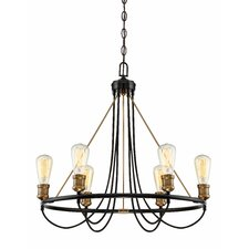 Rollingwood 6-Light Candle-Style Chandelier