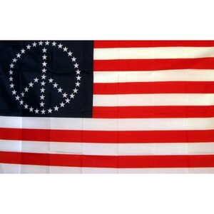 US Peace Stars Historical Traditional Flag