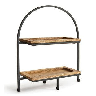 Top 2 Tier Serving Stand | Wayfair KO32