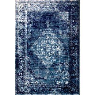 Alexia Navy Blue Rug