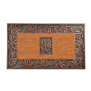 Leaf Cocoa Doormat