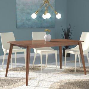 Century Dining Room Tables midcentury dining tables | birch lane
