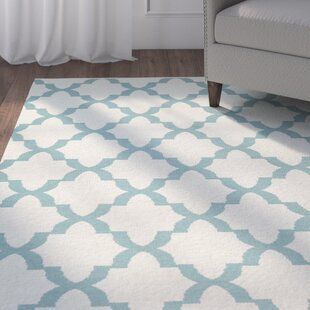 Tyesha Seafoam Cream Indoor Outdoor Area Rug