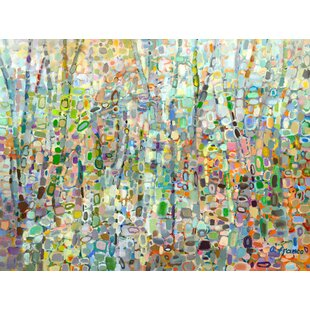de6fa64a95b  Abstract Forest  by Angelo Franco Painting Print on Wrapped Canvas