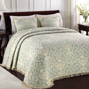 dark blue bedspread wayfair