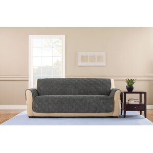 Wide Wale Corduroy Box Cushion Sofa Slipcover by Sure Fit