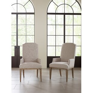 Monteverdi Upholstered Arm Chair (Set Of 2) Wonderful