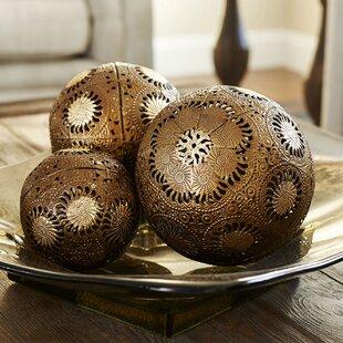 Decorative Ball Set Green Wayfair