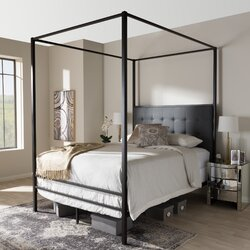 shop this collection baxton studio by wholesale interiors - Baxton Studio Bed