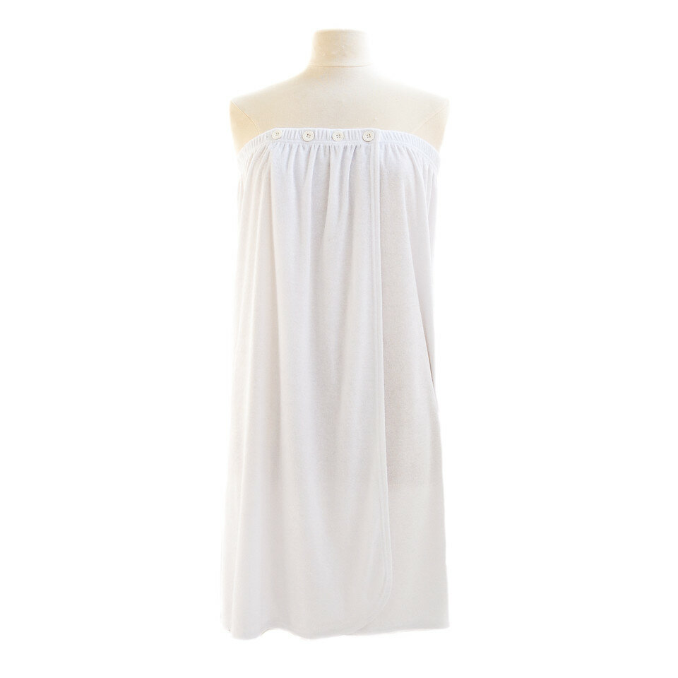 71106d3ff0 Jerdon Telegraph Hill Luxury Terry Cloth Bath Wrap
