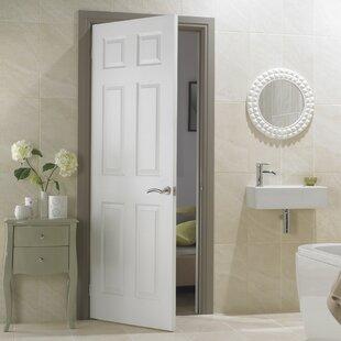 Safe and Sound Solid Moulded Wood Slab Internal Door Primed by Premdor