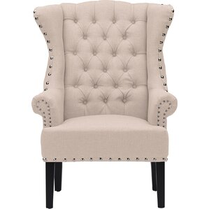 Rummel Wingback Chair by Willa Arlo Interiors