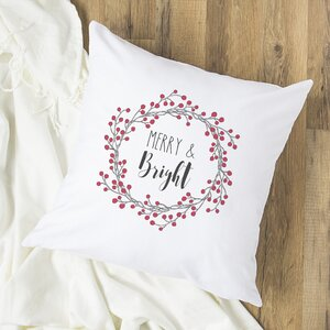 Gothard Merry and Bright Throw Pillow