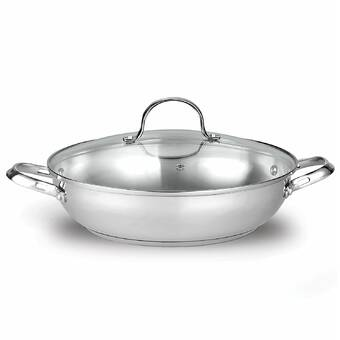 Cuisinart Chef's Classic Stainless Steel Skillet & Reviews