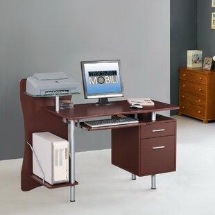 Storage Drawer Computer Desk. By Techni Mobili