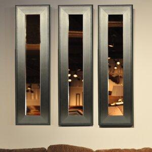 Molly Dawn Brushed Silver Mirror Panel