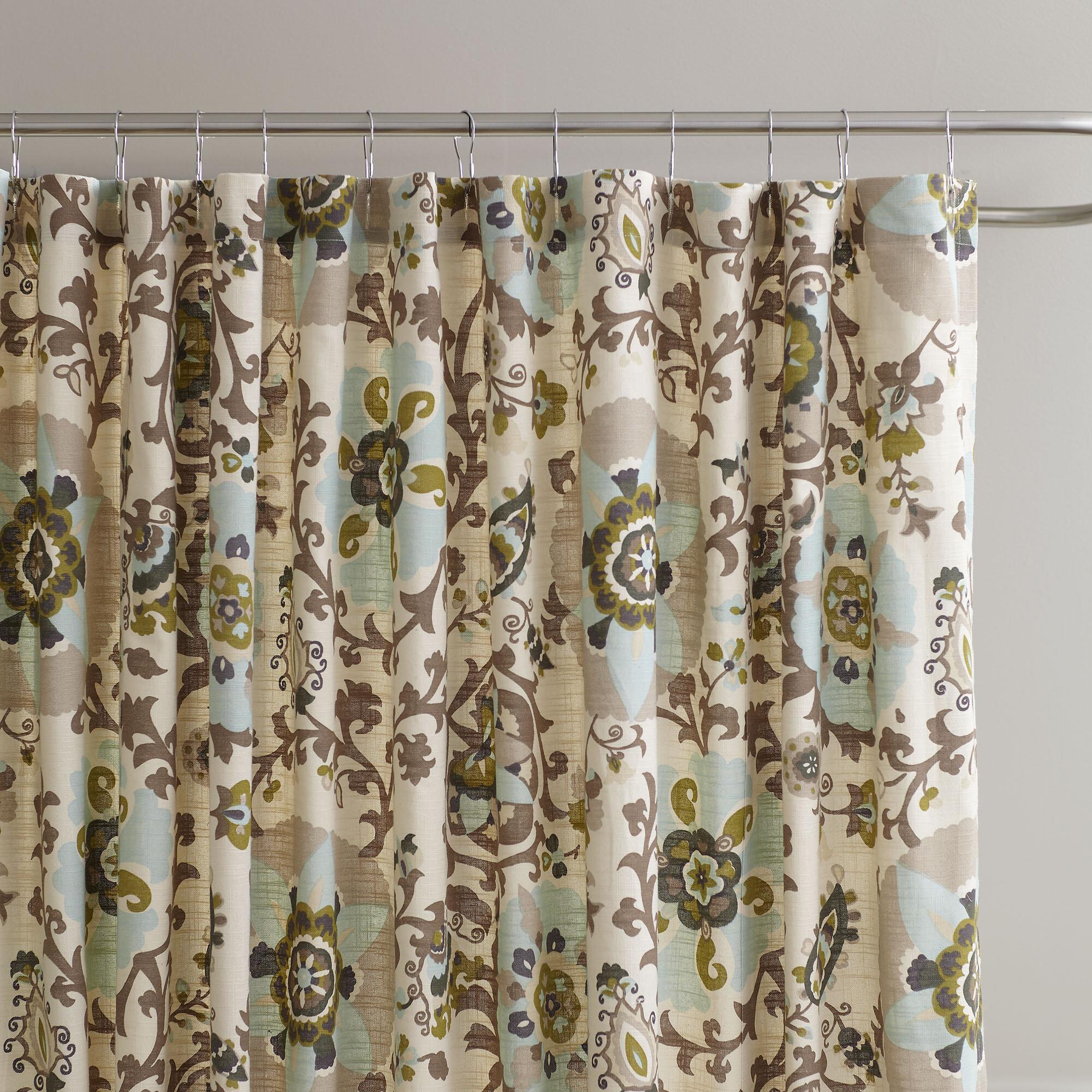 Grady Cotton Shower Curtain Reviews