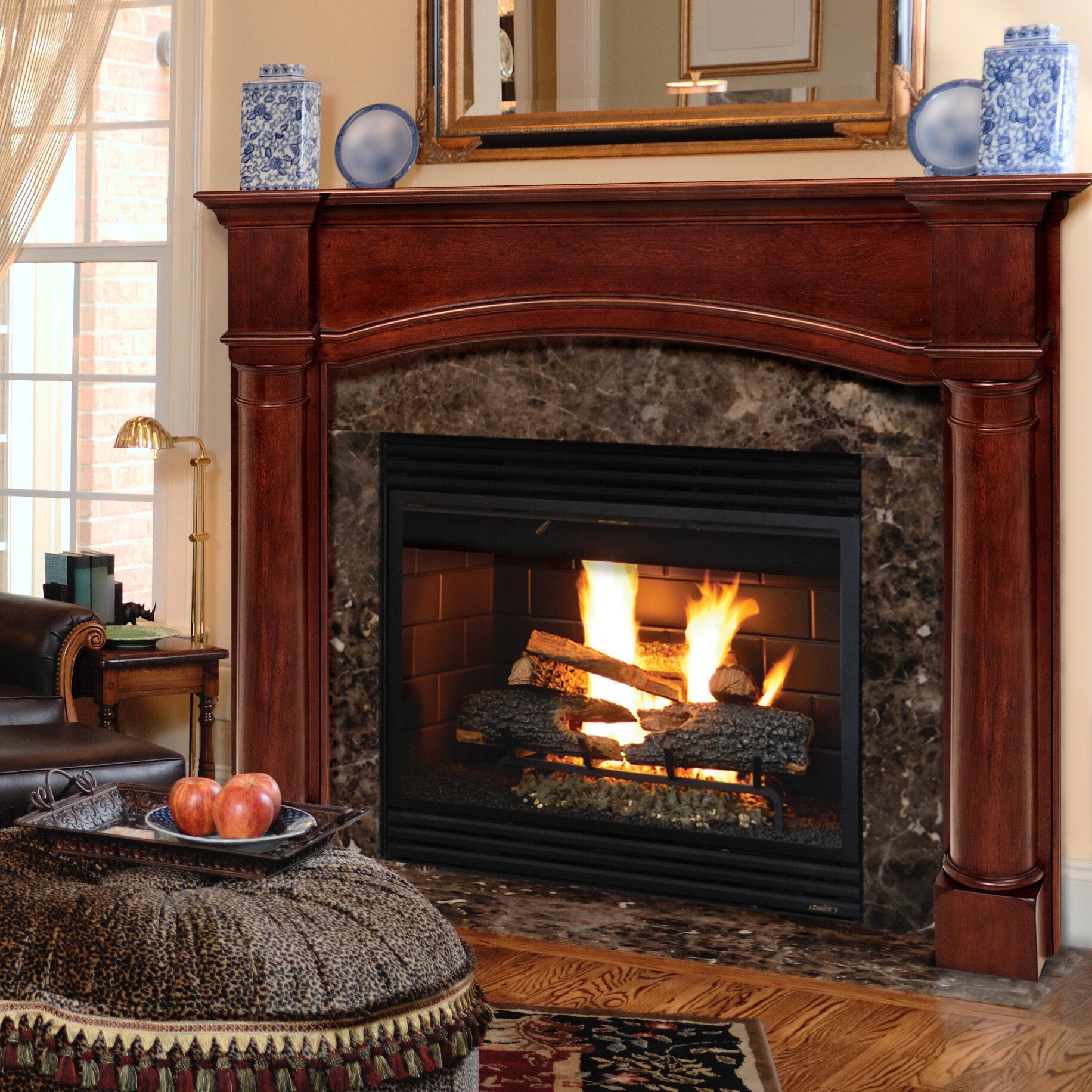 Pearl Mantels The Princeton Fireplace Mantel Surround Reviews Wayfair