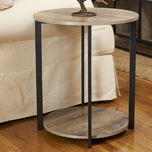 Ryanda Round Low End Table..