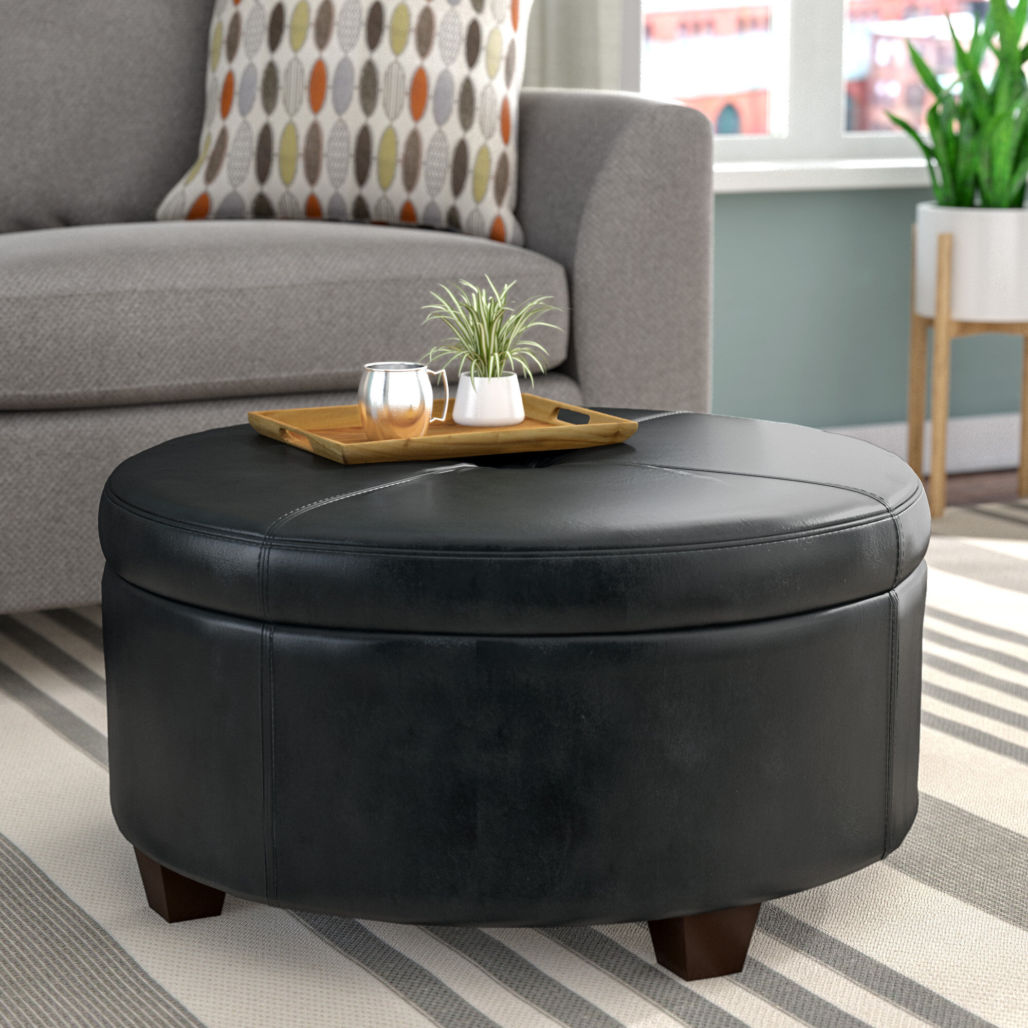 twin round patterned side brown fabric design ideas wooden lamp cocktail black rug wool table home features white polished furniture armchair sofa beige inspiring rectangle leather floor ottoman