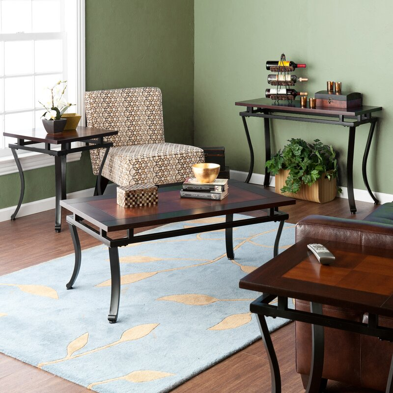 Wildon Home ® Gurley 4 Piece Coffee Table Set & Reviews