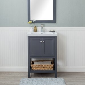 Modern 24 Inch Bathroom Vanities AllModern
