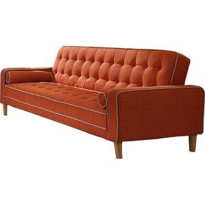 Navi Twill Sleeper Sofa
