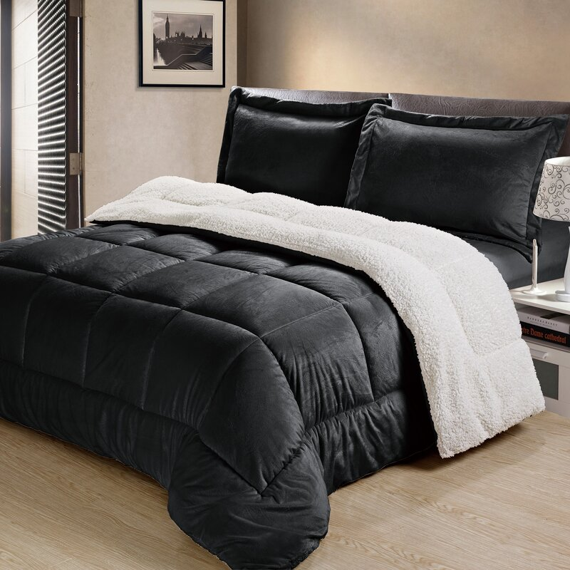 Charlton Home Abbey Box Comforter Set Reviews Wayfair