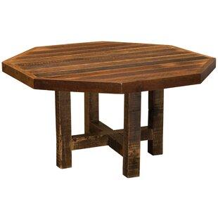 Artisan Barnwood Octagon Dining Table