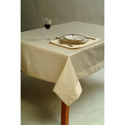 Holmstrom Satin Scroll Table Cloth