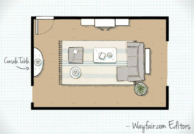 Room Layouts Custom Living Room Layouts  Wayfair Inspiration