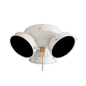 Universal 3-Light Branched Ceiling Fan Light Kit