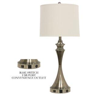 georgene lamp allmodern table usb contemporary port with keyword modern
