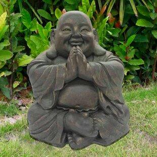 Seated Praying Buddha Figurine