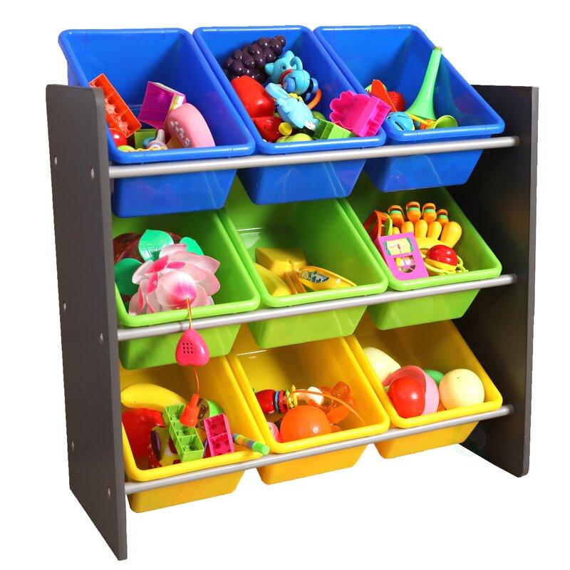 Forney 3 Tier Kidu0027s Toy Storage Organizer