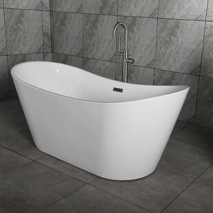 54 inch freestanding tub. Save To Idea Board 35 55 Inches Bathtubs You Ll Love  Wayfair