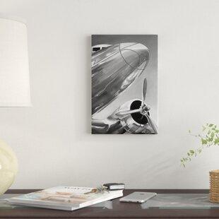 Aviation Icon I Graphic Art Print On Canvas