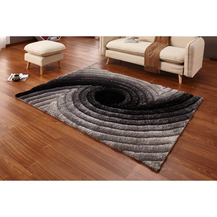 rug collection shag milan arl ac safavieh com x area black dp amazon