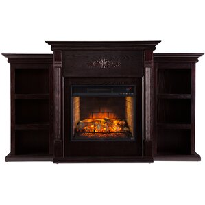Bernice Infrared Electric Fireplace by Three..