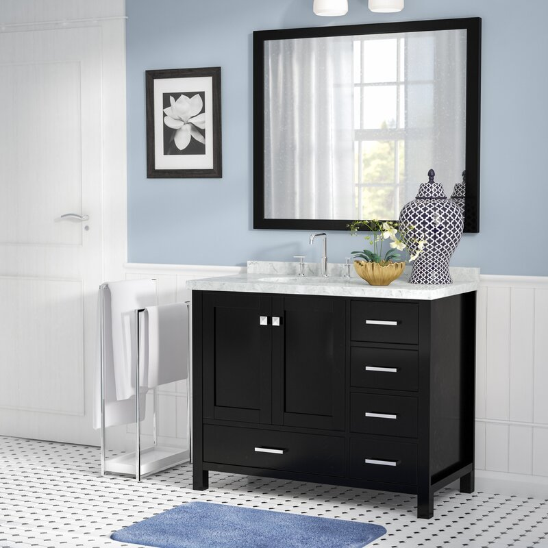 Andover Mills Marine 43 Quot Wood Single Bathroom Vanity Set
