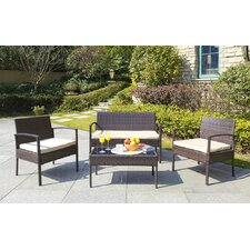 Boveney 4 Piece Lounge Seating Group