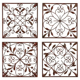 4 Piece Iron Wall Décor Set