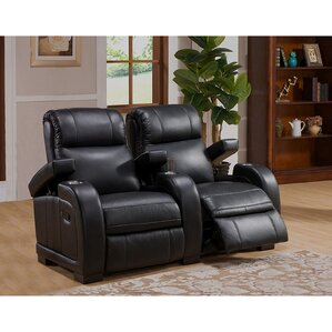 Leeds Home Theater 2 Row Recliner by Coja