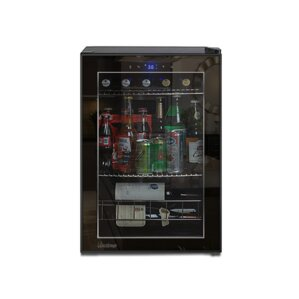 20 Bottle Single Zone Freestanding Wine Cooler b..