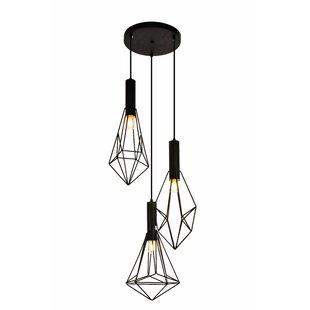 Tiffany pendants youll love wayfair mullikin 3 light cluster pendant aloadofball Images