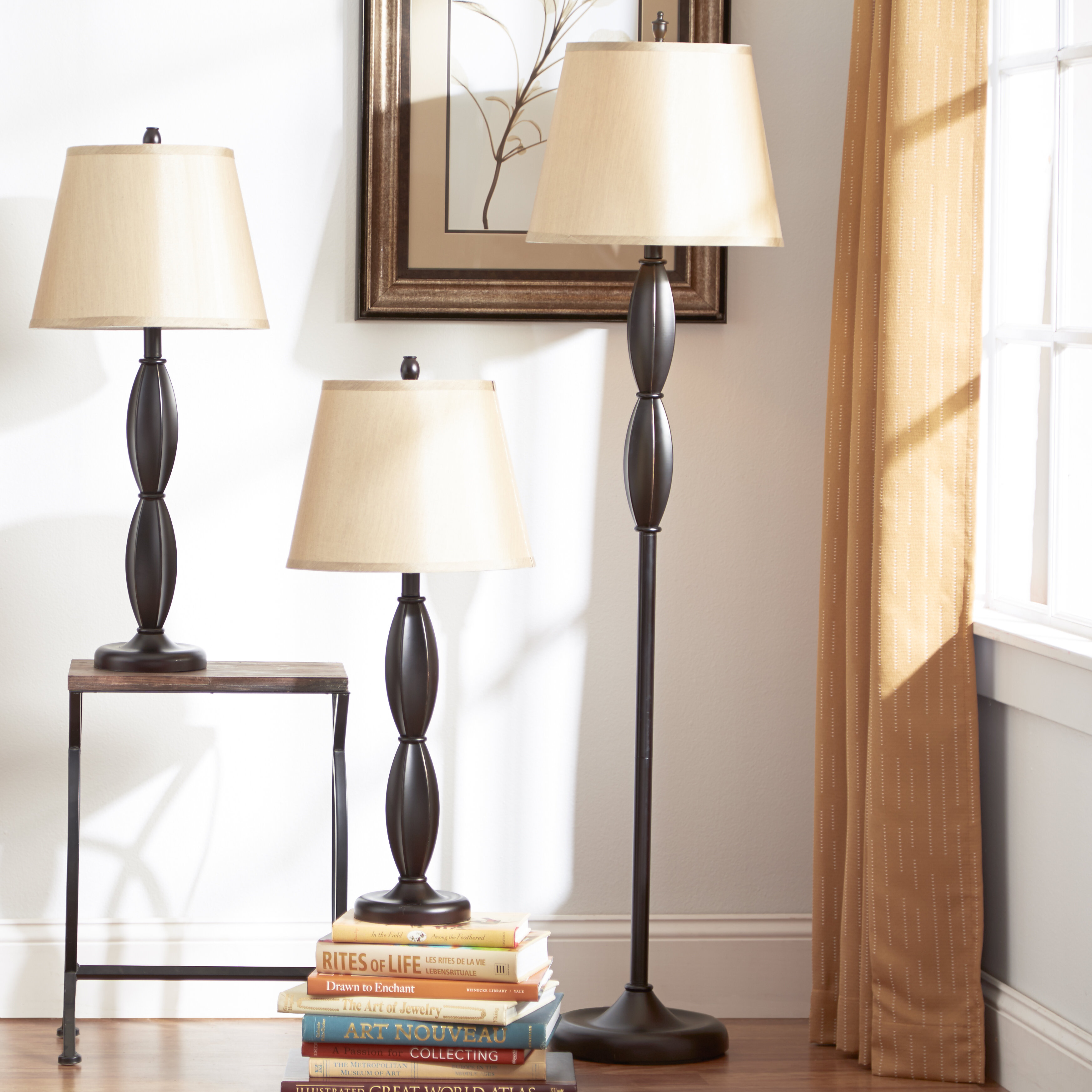 Andover mills petrey 3 piece table and floor lamp set reviews andover mills petrey 3 piece table and floor lamp set reviews wayfair aloadofball Image collections